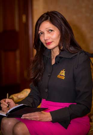 Lady Mayoress Genevieve Theseira-Haese