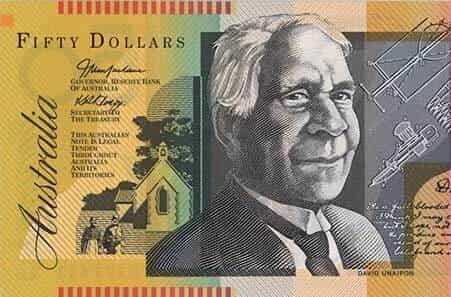 A fifty dollar bill - aud