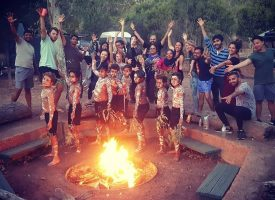 Flinders Ranges School Camp Aboriginal Cultural Dance Ceremony