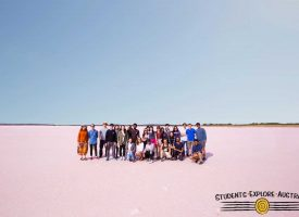 Student Tour Flinders Ranges Pink Lake