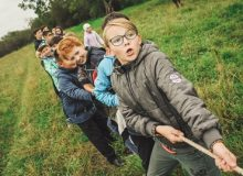 School Camps Group Games